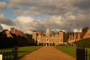 Das Herrenhaus Blickling in Norfolk
