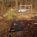 Die Unkrautbekämpfung im Kleingarten geht weiter
